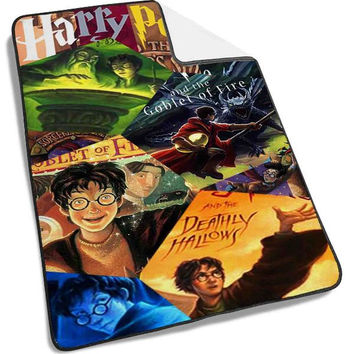 harry potter all books Blanket