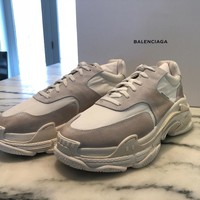 Balenciaga Triple S - Triple White (2018) NEW IN BOX Size 44 / 11 US - MINT!