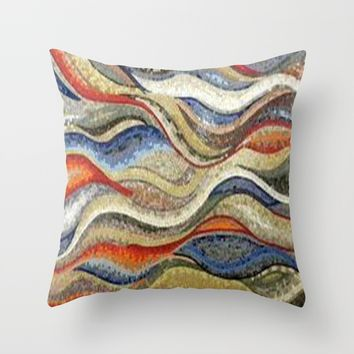 mosaic Throw Pillow by exquisite