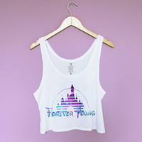 Forever Young Crop Tank Top