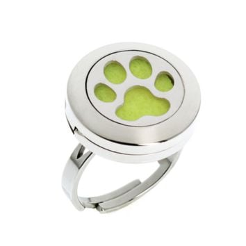 Paw Print Essential Oil Diffuser Ring (Cat or Dog)