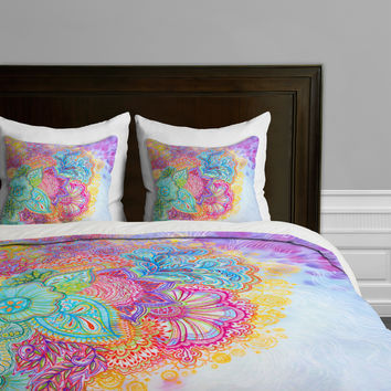 DENY Designs Stephanie Corfee Flourish Microfiber Duvet Cover