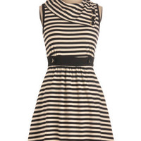 Coach Tour Dress in Stripes | Mod Retro Vintage Dresses | ModCloth.com