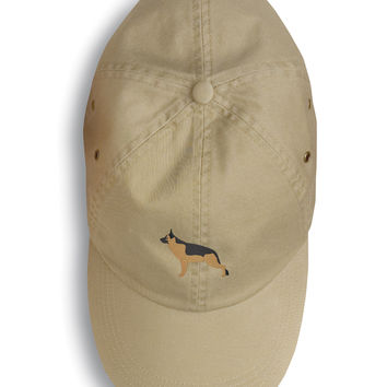 German Shepherd Embroidered Baseball Cap BB3424BU-156