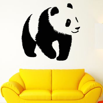 Vinyl Wall Decal Baby Panda Asian Bear Animal Zoo Stickers Unique Gift (1859ig)