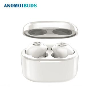 Anomoibuds True Wireless Earbuds Hifi Bluetooth Earphone TWS Stereo With Mic for iPhone X 8 Samsung Xiaomi Charger Box Earphones