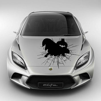 Batman car hood decal Batman Car Decals Batman Car Truck Batman Side Body Graphics Batman Decal for car kikcar150