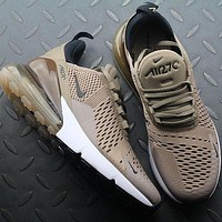 Nike Air Max 270 AH8050 200 Sepia Stone Sport Running Shoes