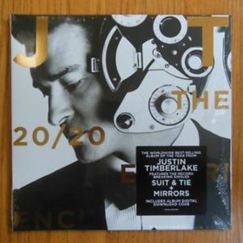 Justin Timberlake Record Set-The 20/20 Experience double LP - Unopened & Sealed