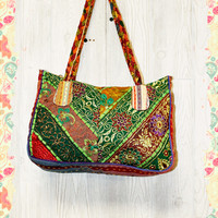 Brocade and Braids Bag