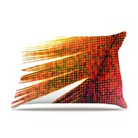 "Alison Coxon ""Feather Pop"" Pillow Case"