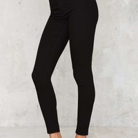 Cheap Monday High Spray On Skinnies - Black