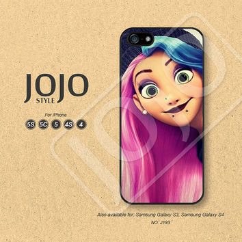 Disney iPhone 5 Case iPhone 5c Case iPhone 4 Case iPhone 5s Case iPhone 4s Case Disney Tangled Phone Cases Phone Covers - J193