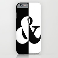 Black & White iPhone & iPod Case by BeautifulHomes