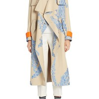 Fendi Fil Coupe Trench Coat | Nordstrom