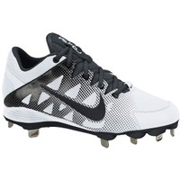 Nike Women's Air Hyperdiamond Strike 2 Metal Fastpitch Cleat - White/Black | DICK'S Sporting Goods