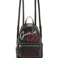 Urban Sport Leeza Studded Small Backpack at Guess