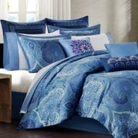 CLOSEOUT! Echo Jakarta Comforter and Duvet Cover Mini Sets | macys.com
