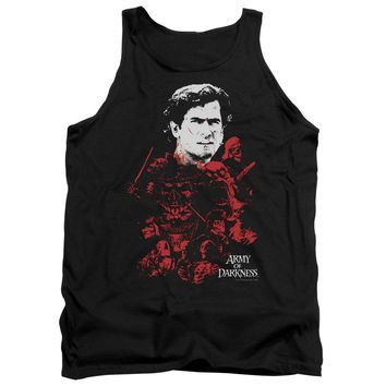 Army Of Darkness - Pile Of Baddies Adult Tank