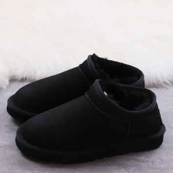 Women's and men's UGG warm cotton shoes ankle boots _1686248855-031