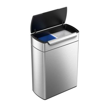 simplehuman | dual compartment trash cans and recyclers