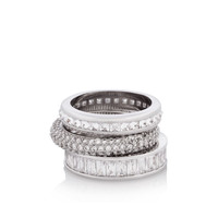 the henri stack ring set - designer rings - fashion rings for ladies