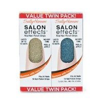 Sally Hansen Salon Effects Value Twin Pack - Glitz Blitz / Blue Ice
