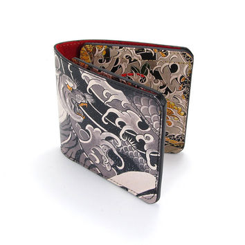 Leather Wallet - Tattoo