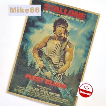[ Mike86 ] Vintage Classic movie Poster Retro art Wall home Decoration 30X42 CM  BM-34