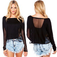 Sheer Angles Top