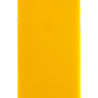 Yellow Frosted Transparent Soft Case for iPhone 6 Plus