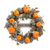 36in Harvest Blessing Wreath - Harvest - T.J.Maxx