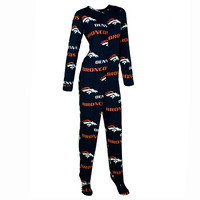 Denver Broncos Facade Union Suit