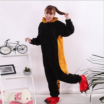 Footed Pajamas For Adults Full Sleeve Microfiber Onesuits