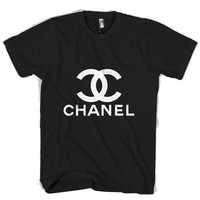 chanel logo T Shirt Men