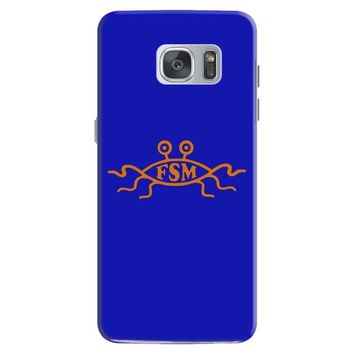 church of the flying spaghetti monster mens t shirt Samsung Galaxy S7