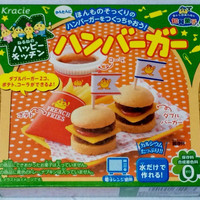 Bags POPIN Cook Hamberger.Kracie Hamburger Happy Kitchen Cookin Japanese confectioner Kit ramen. ing
