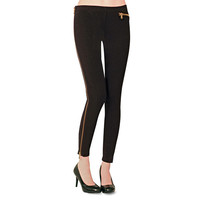 Hot Sox: Side Zipper Leggings, at 26% off!