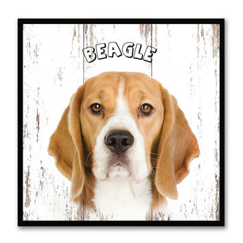 Beagle Dog Canvas Print Picture Frame Gift Home Decor Wall Art Decoration