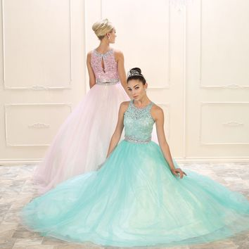 Sweet 16 Long Dress Quinceanera Ball Gown