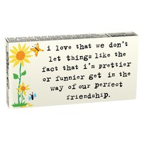 Friends: I'm Prettier or Funnier Gum - Whimsical & Unique Gift Ideas for the Coolest Gift Givers