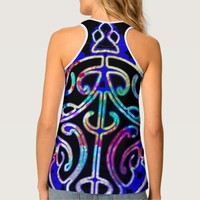 Rainbow Turtle Tatoo Tank Top