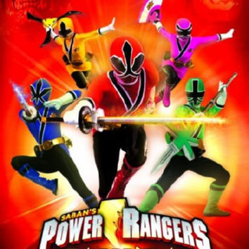 Power Rangers Samurai Movie Poster 24inx36in