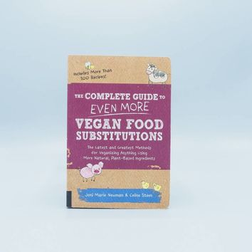 The Complete Guide to Even More Vegan Food Substitutions - The Herbivore Clothing Co.