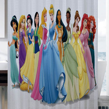 all princess shower curtain