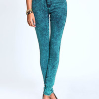 JADE ACID HIGH WAIST JEANS