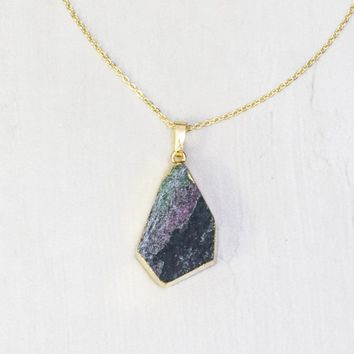 Lou Geode Necklace