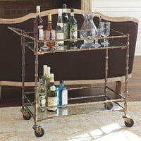 Jill Bar Cart | European-Inspired Home Furnishings | Ballard Designs