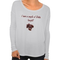 Date fruit Islamic woman's shirt