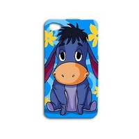 Adorable Disney Eeyore Cute Donkey Blue Case iPhone Cover iPod Phone Cool Baby